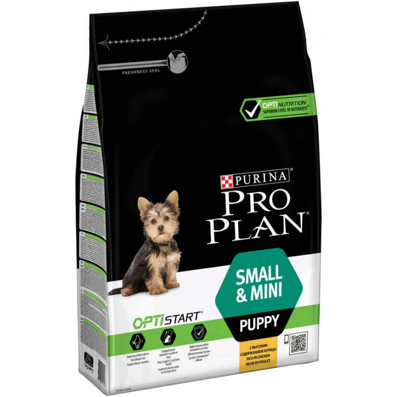 Purina Pro Plan (Пурина Про План) Puppy Small&Mini Chiken Cухой корм для щенков собак мелких пород с курицей