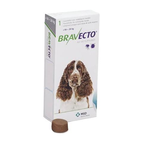 Bravecto (Бравекто) by MSD Animal Health - Противопаразитарные жевательные таблетки от блох и клещей для собак (1 таблетка) - Фото 9