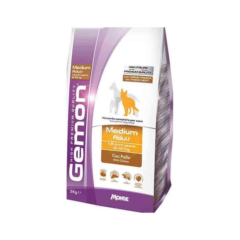 Gemon (Джемон) Medium Adult - Сухой корм для взрослых собак средних пород с курицей и рисом