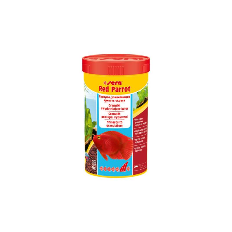 Корм для рыб SERA RED PARROT гранулы