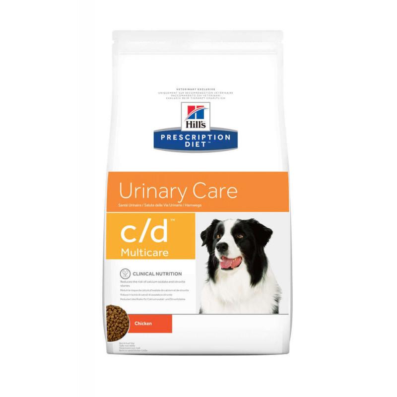 Hill's (Хилс) Корм-диета для собак с курицей ЗДОРОВЬЕ МОЧЕПОЛОВОЙ СИСТЕМЫ (Prescription Diet c/d Multicare Urinary Care )