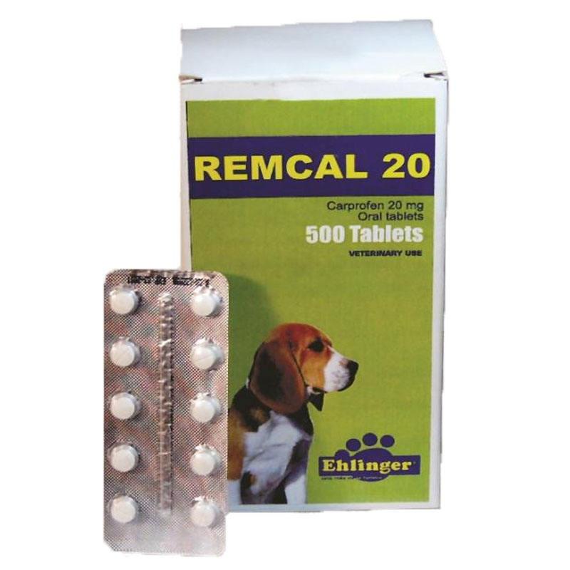 Ремкал (карпрофен 20 мг) №10 обезболивающие таблетки для собак
