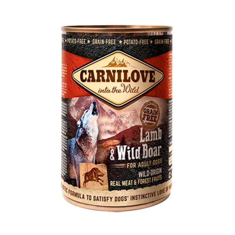 Carnilove (Карнилав) Lamb & Wild Boar for Adult Dogs - Консервы с ягненком и кабаном для взрослых собак