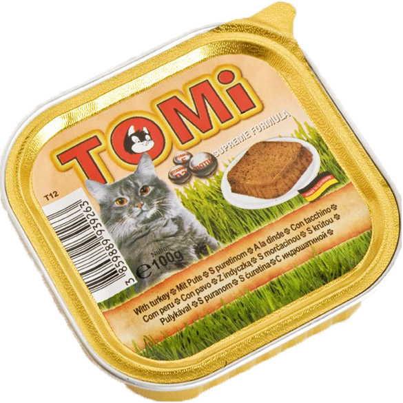 TOMi (Томи) turkey - Паштет с индейкой для кошек