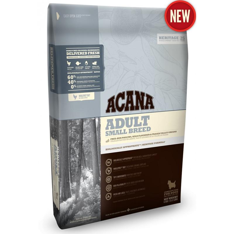 Acana (Акана) Adult Small Breed - Сухой корм с мясом цыплят для взрослых собак малых пород