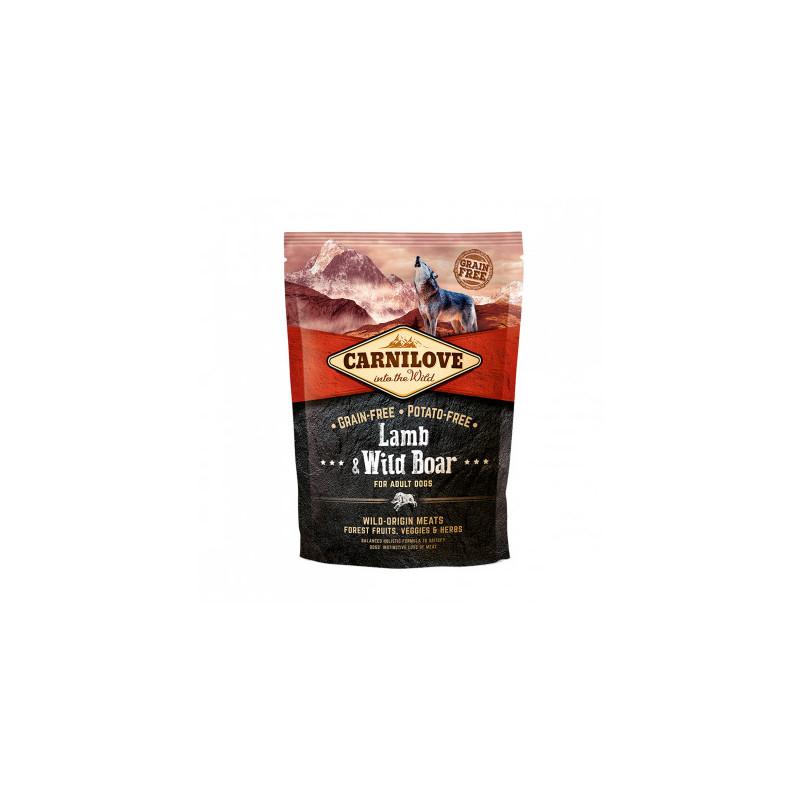 Сухой корм Carnilove (Карнилав) Dog с мясом ягненка и дикого кабана