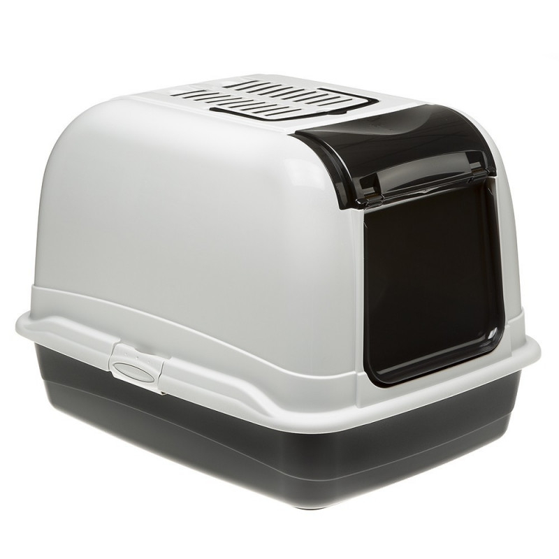 Ferplast (Ферпласт) Maxi Bella Cabrio - Туалет закрытый для котов эргономичной формы