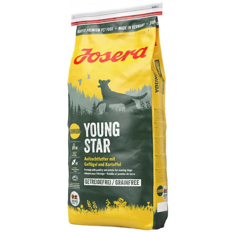 Josera (Йозера) Young Star Беззерновой корм для щенков и молодых собак