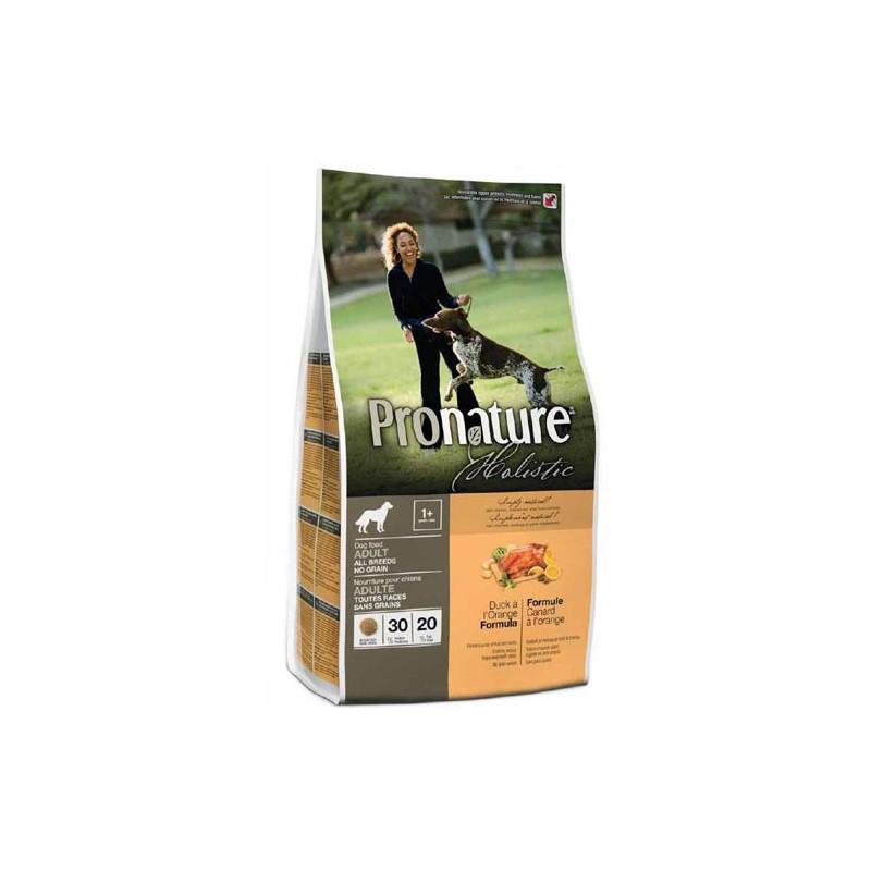 Pronature Holistic УТКА С АПЕЛЬСИНОМ для взрослых собак, без содержания зерновых