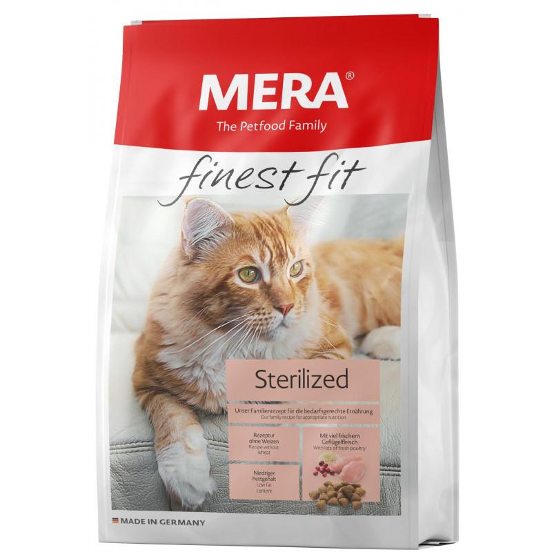 Mera (Мера) Finest fit Sterilized - Сухой корм с курицей и индейкой для стерилизованных кошек