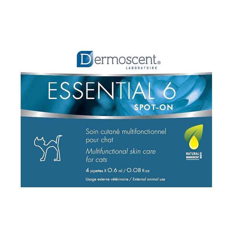 Dermoscent (Дермосент) Essential 6 spot-on Средство по  уходу за кожей и шерстью кошек
