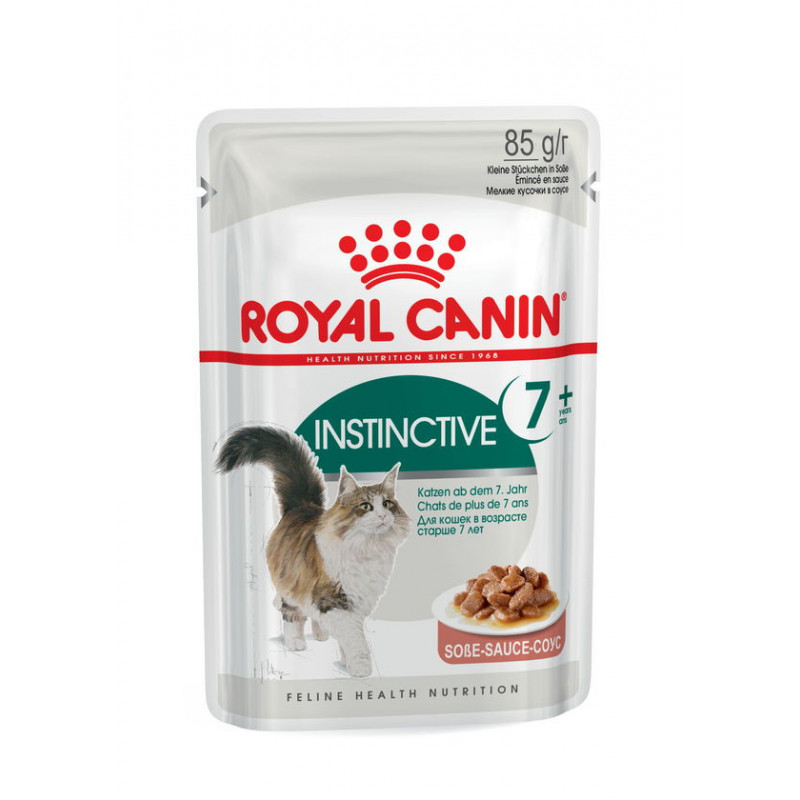 Royal Canin (Роял Канин) Instinctive +7 - Консервированный корм для кошек старше 7 лет