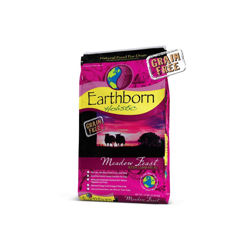 Earthborn Holistic (Эрсборн Холистик) Dog Meadow Feast with Lamb Meal - Сухой корм c мясом ягненка для собак на всех стадиях жизни с чувствительным пищеварением
