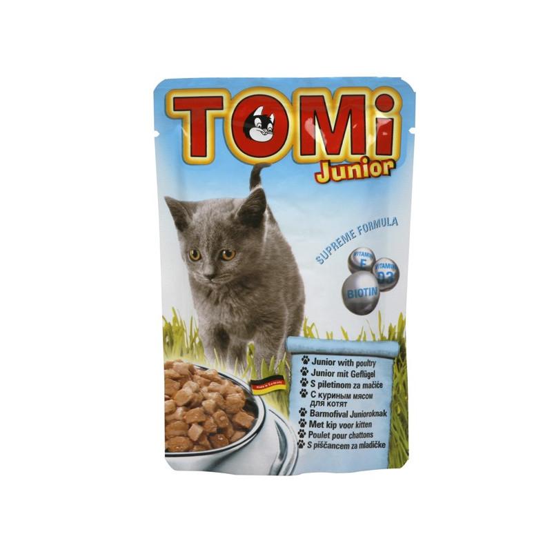TOMi (Томи) junior with poultry - Пауч с мясом домашней птицы для котят