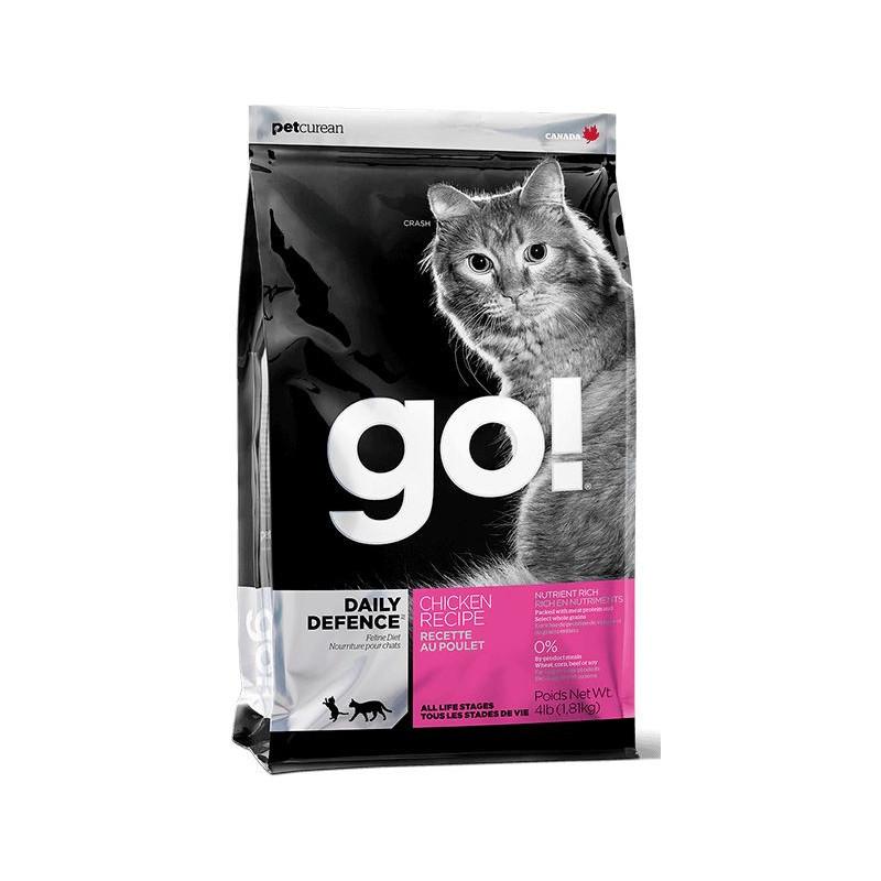 GO!™ Refresh + Renew Chicken Cat Recipe Корм для котят и кошек с цельной курицей, фруктами и овощами