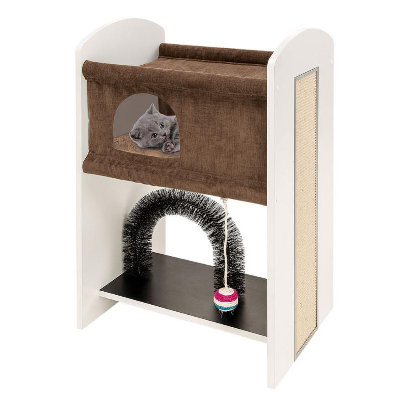 Ferplast (Ферпласт) Leo - Игровой комплекс для кошек с когтеточкой