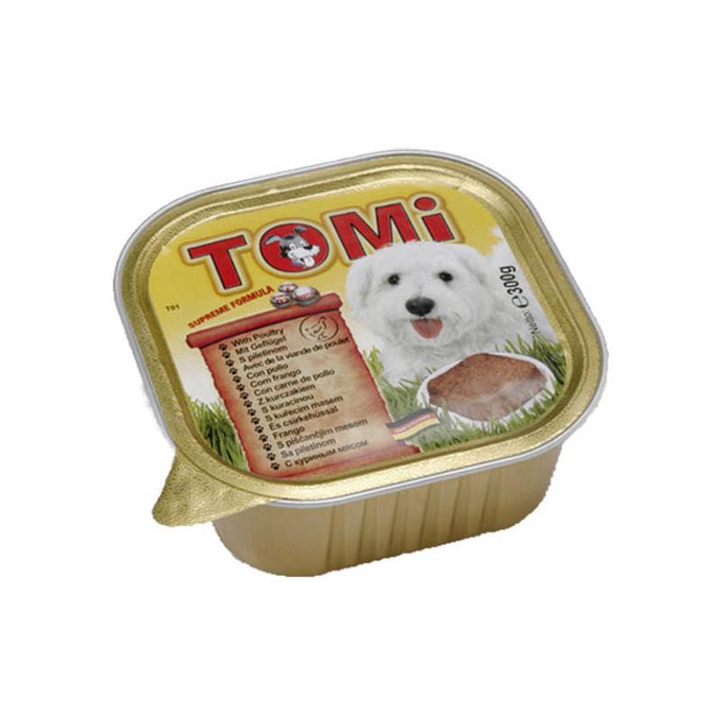 TOMi poultry паштет для взрослых собак