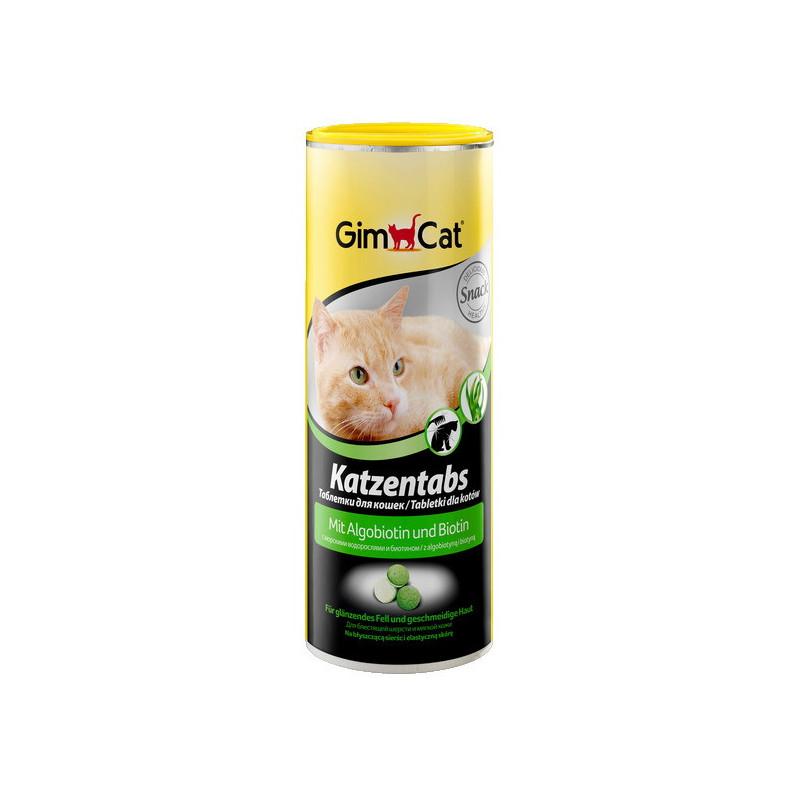 Gimcat (ДжимКэт) Katzentabs - Витамины с морскими водорослями и биотином для кошек