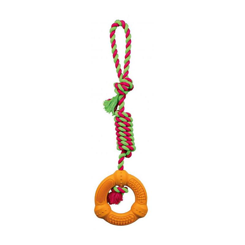 Trixie (Трикси) Кольцо на веревке Denta Fun