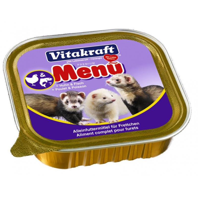 Консервированый корм VITACRAFT для хорьков