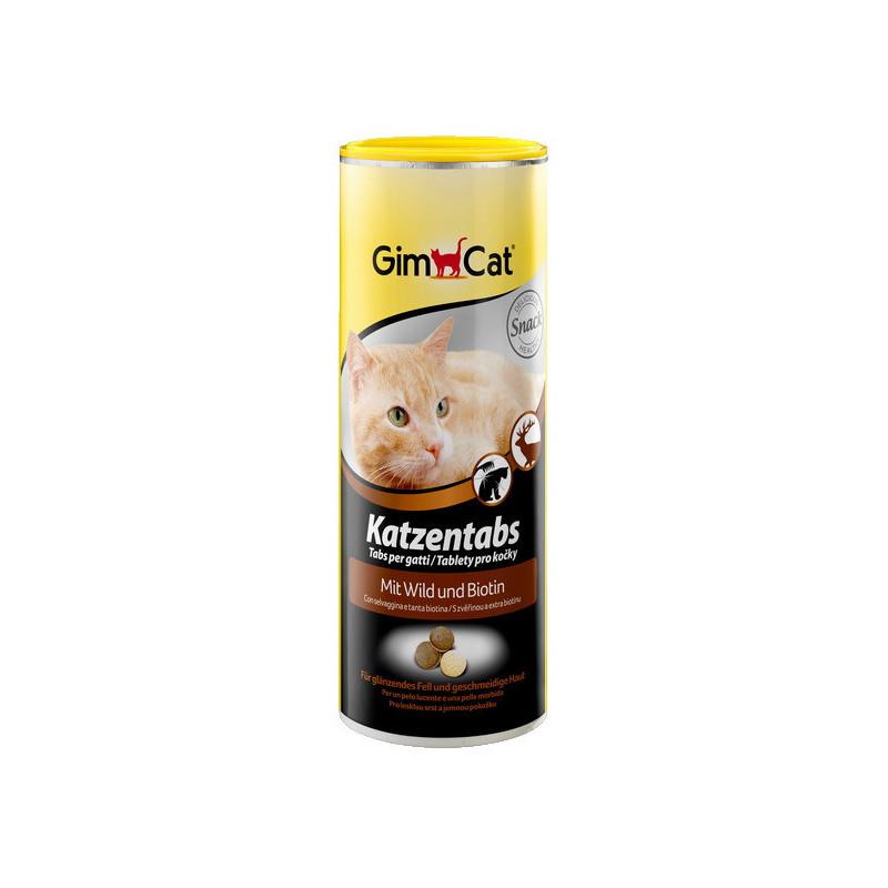 Gimcat (ДжимКэт) Katzentabs - Витамины для кошек с дичью и биотином для улучшения пищеварения