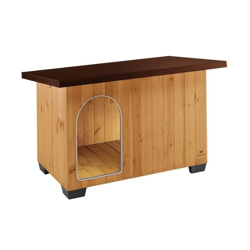 Деревянная будка FERPLAST Baita для собак