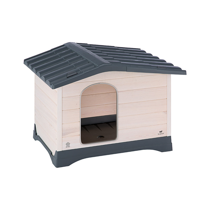 Собачья будка дерево Ferplast Dog Lodge для улицы