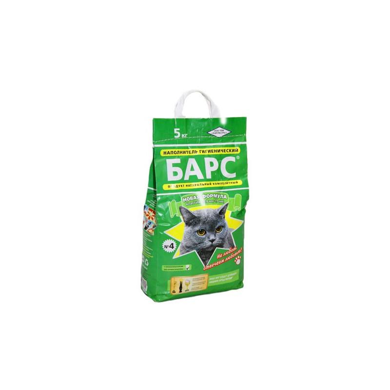 Барс №4 Класик - Наполнитель для кошачего туалета
