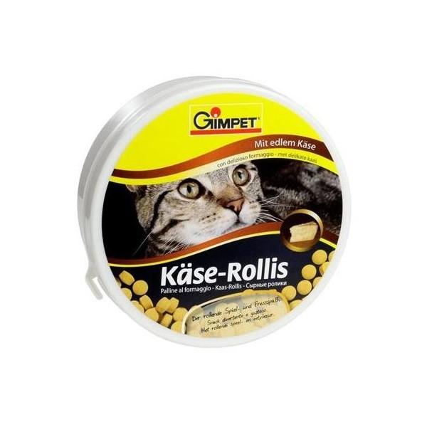Gimcat (джимКэт) Kase-Rollis - Общеукрепляющий комплекс для котов с сыром - Фото 2