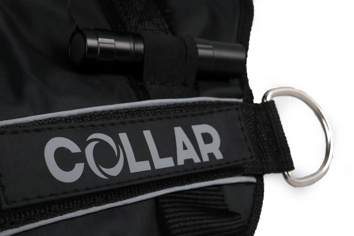 Collar (Коллар) DogExtremе Police – Шлея для собак со сменной надписью - Фото 4