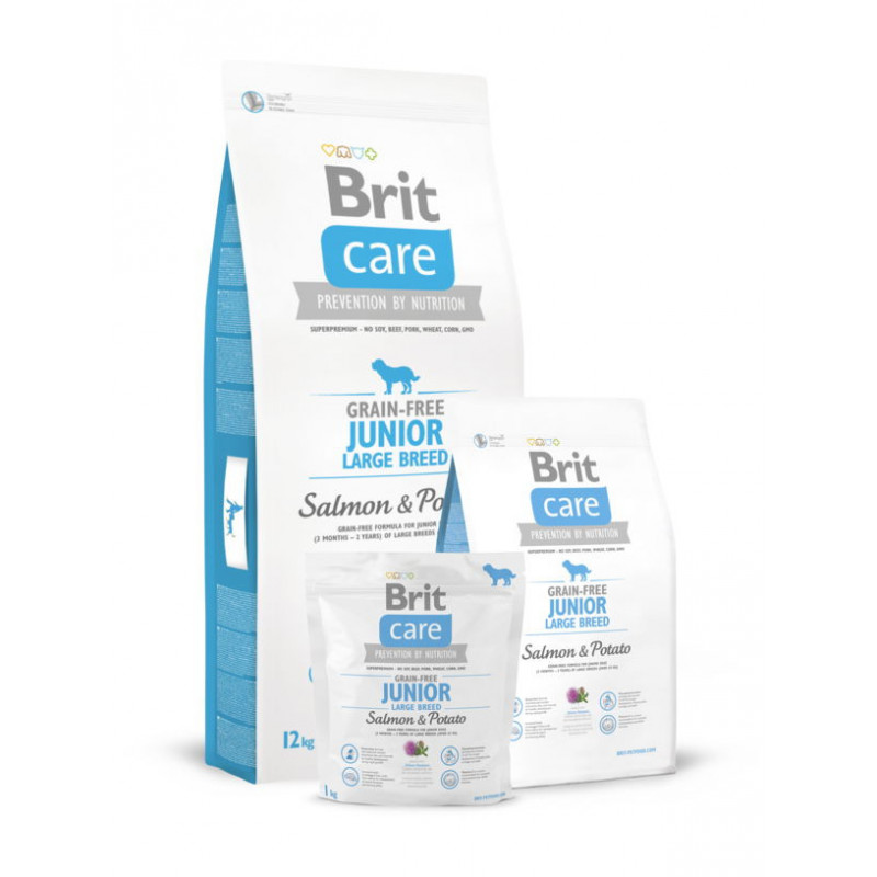 Brit Care (Брит Кеа) Grain-free Junior Large Breed Salmon (д/щенков гигантских пород)