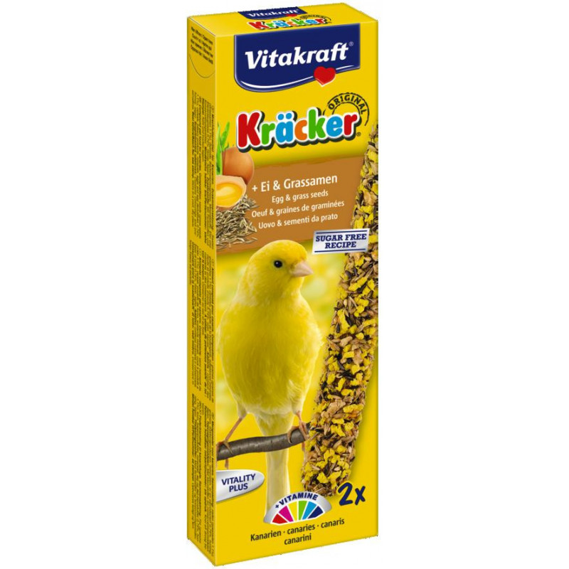 Крекер VITACRAFT для канареек с яйцом