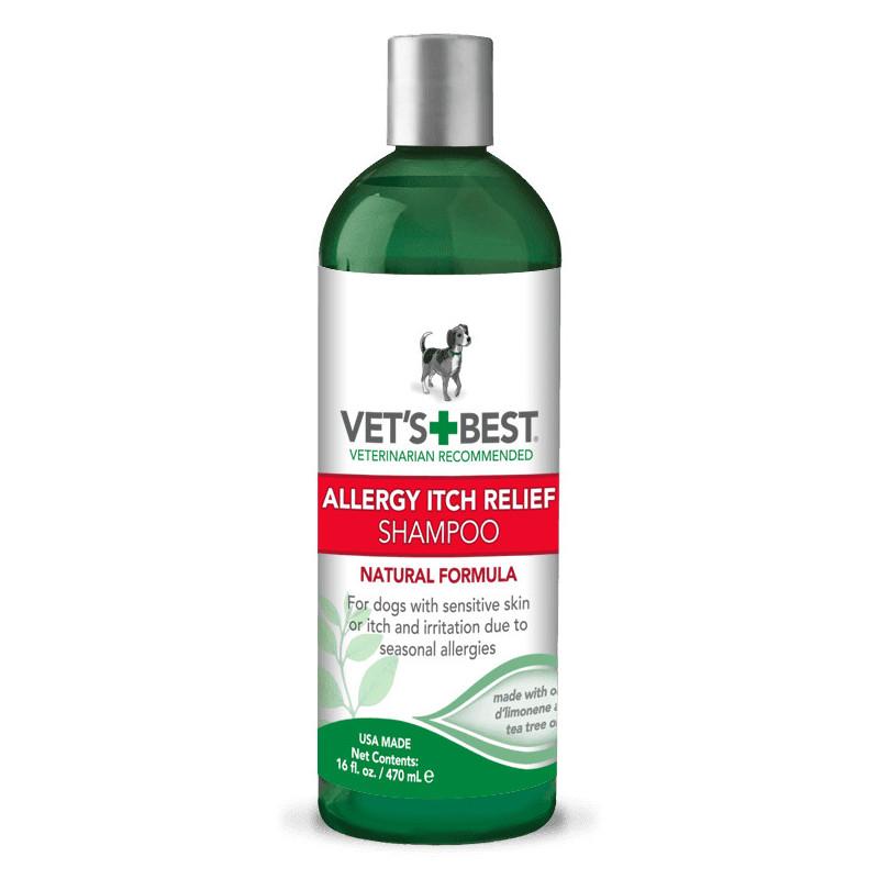 VET`S BEST (Ветс Бест) Allergy Itch Relief Shampoo Шампунь для собак при аллергии