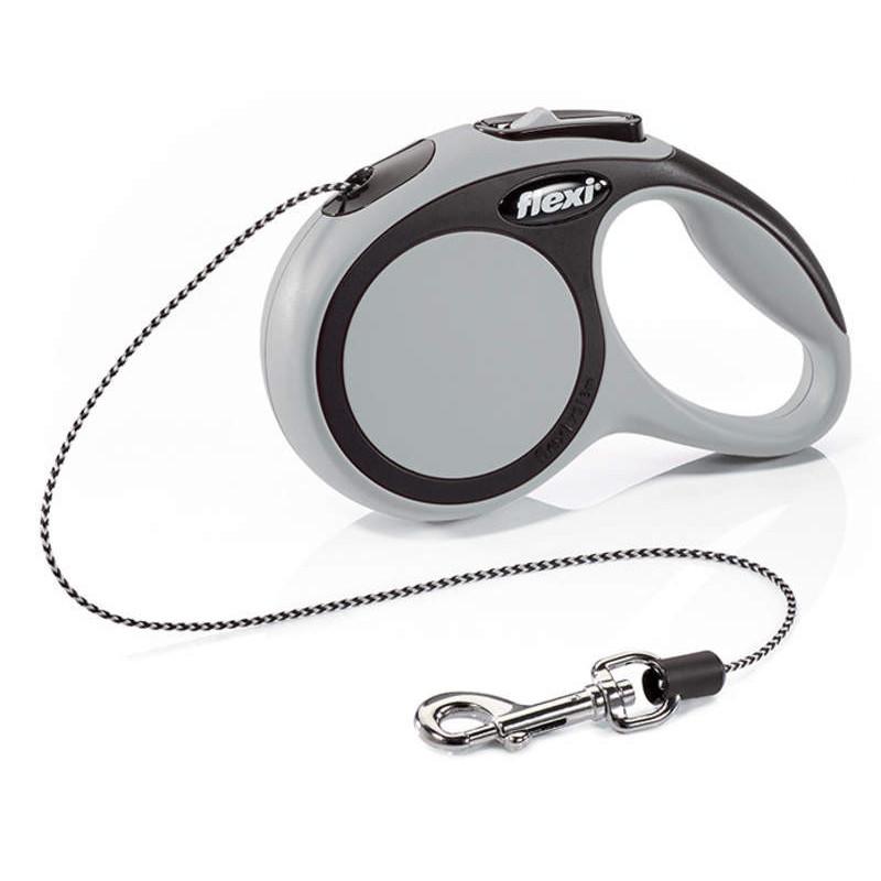 Flexi (Флекси) New Comfort ХS  - Поводок-рулетка для собак мелких пород, трос (3 м, до 8 кг)