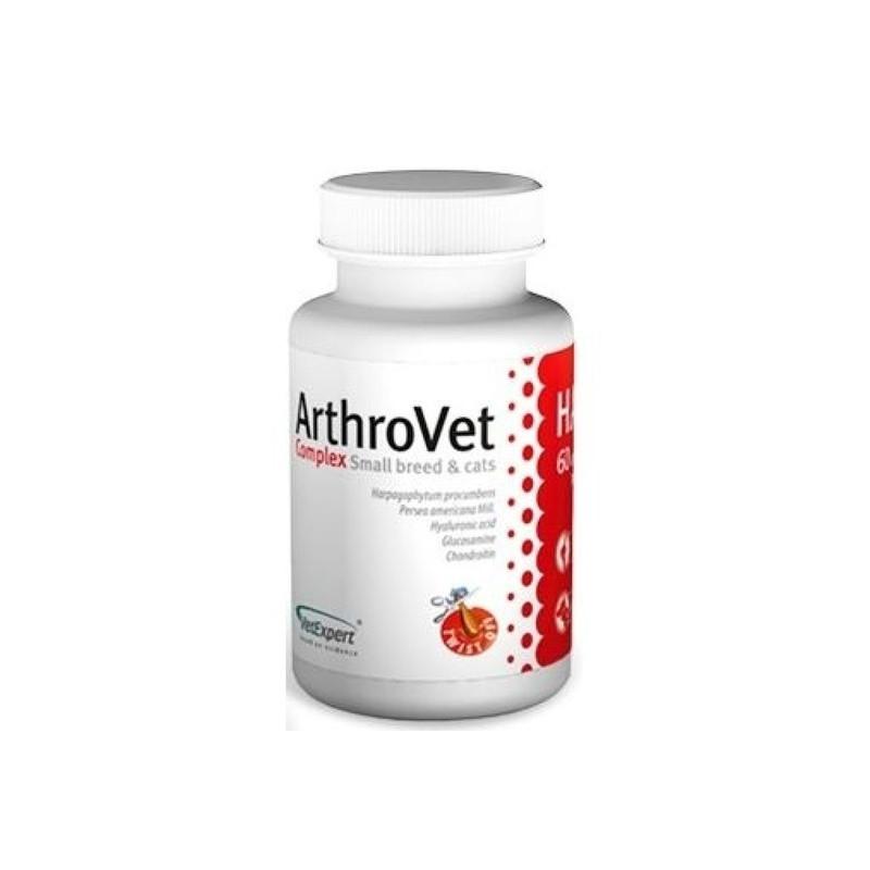 VetExpert ArthroVet Complex small breeds & cats Для здоровья хрящей и суставов собак малых пород и кошек