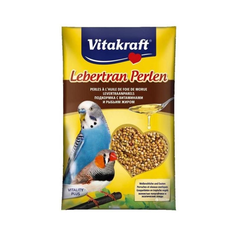 Витаминная добавка VITACRAFT LEBERTRAN PERLEN для попугаев с рыбьим жиром