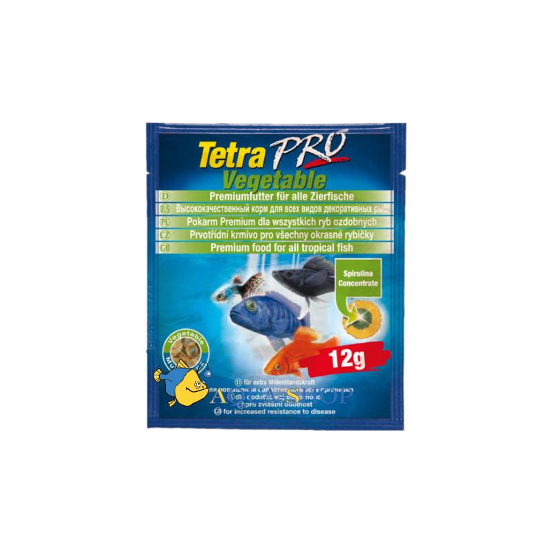 Корм  TETRA ALGAE VEGETABLE для аквариумных рыб с овощами
