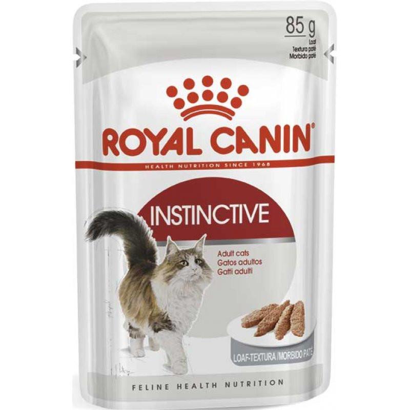 Royal Canin (Роял Канин) INSTINCTIVE LOAF - Консервированный корм для кошек (паштет)