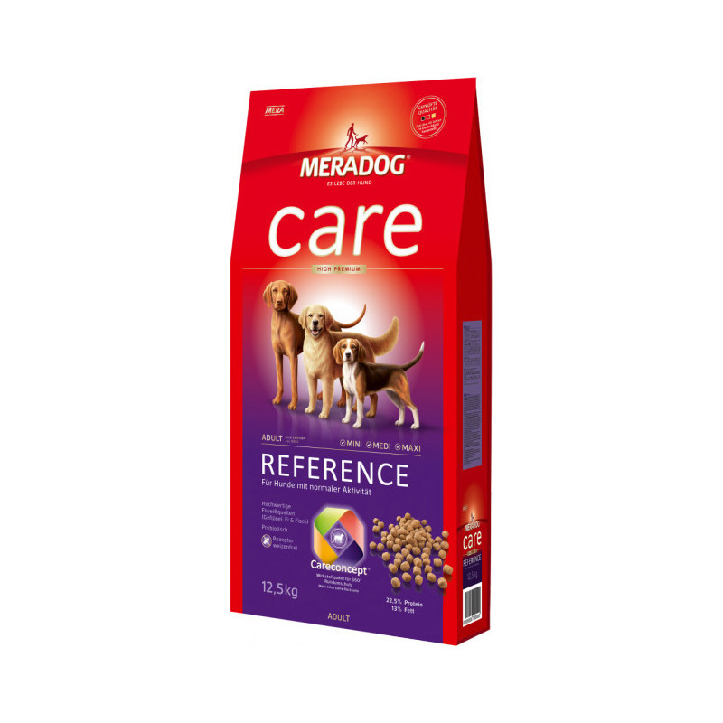 Сухой корм Meradog Reference для взрослых собак всех пород с нормальной активностью