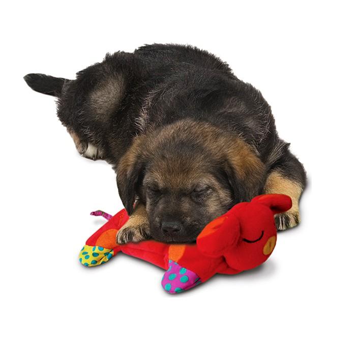 """PETSTAGES (Пестейдж) Puppy Cuddle Pal - Игрушка для собак и щенков подушка """"Сладкий сон"""" - Фото 3"""