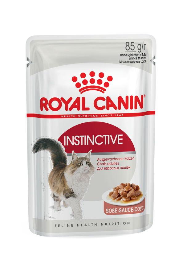 Royal Canin (Роял Канин) Instinctive - Консервированный корм для взрослых кошек (кусочки в соусе) - Фото 2