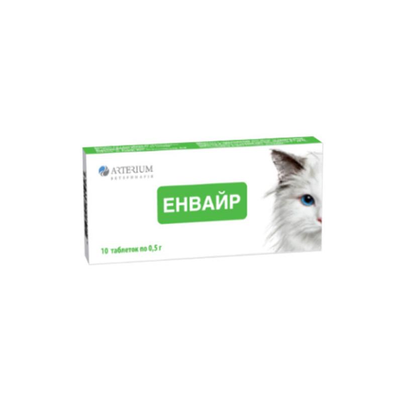 Энвайр таблетки от глистов для котов