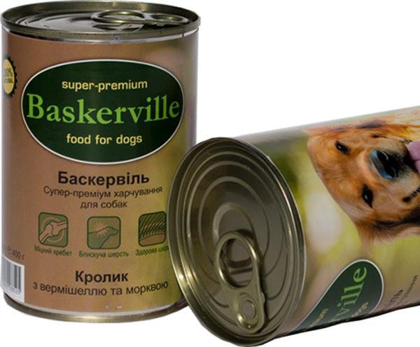 Консервы Baskerville кролик с вермишелью и морквой - Фото 2