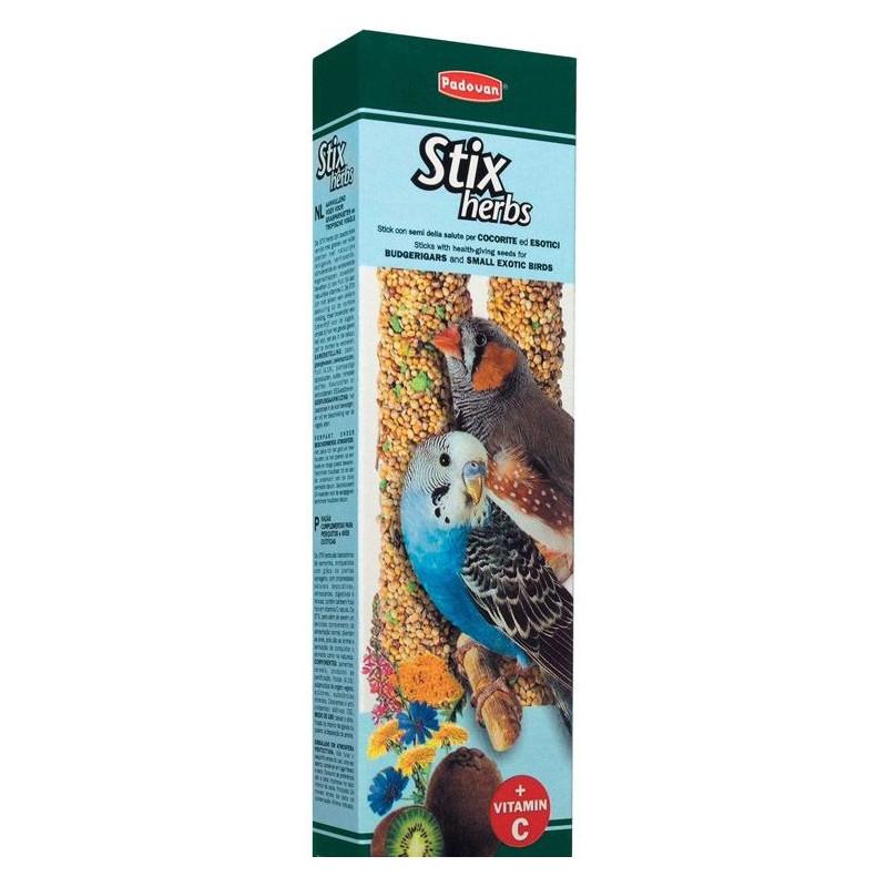 Padovan (Падован) Stix herbs cocorite - Лакомство на палочке для птиц
