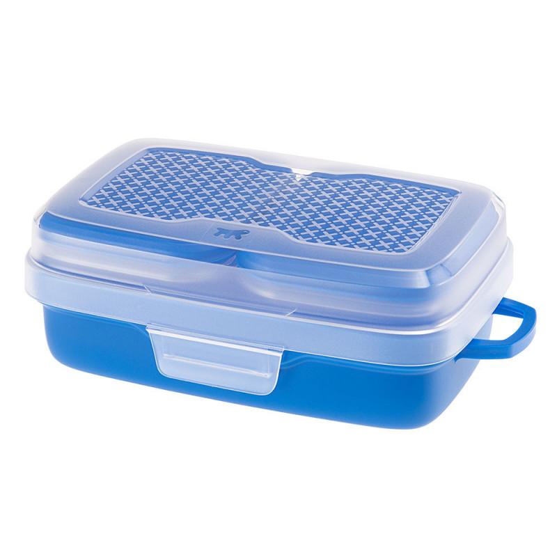 Набор пластиковых контейнеров Ferplast Pet Risto для транспортировки корма и воды