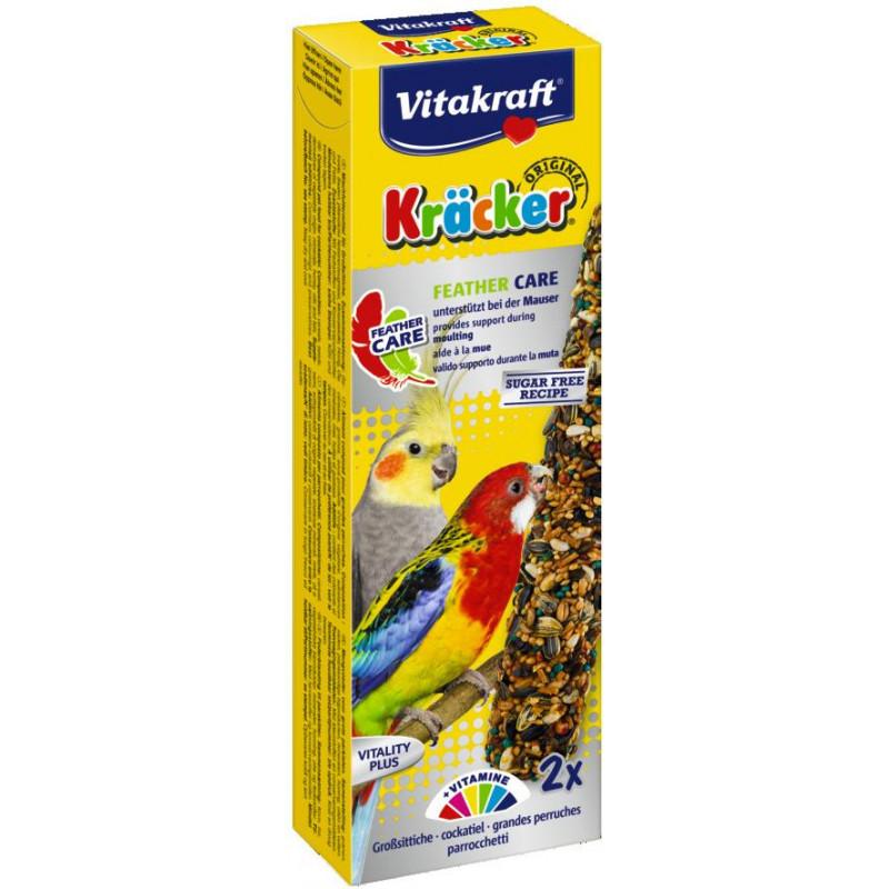 Крекер VITACRAFT для попугаев в период линьки