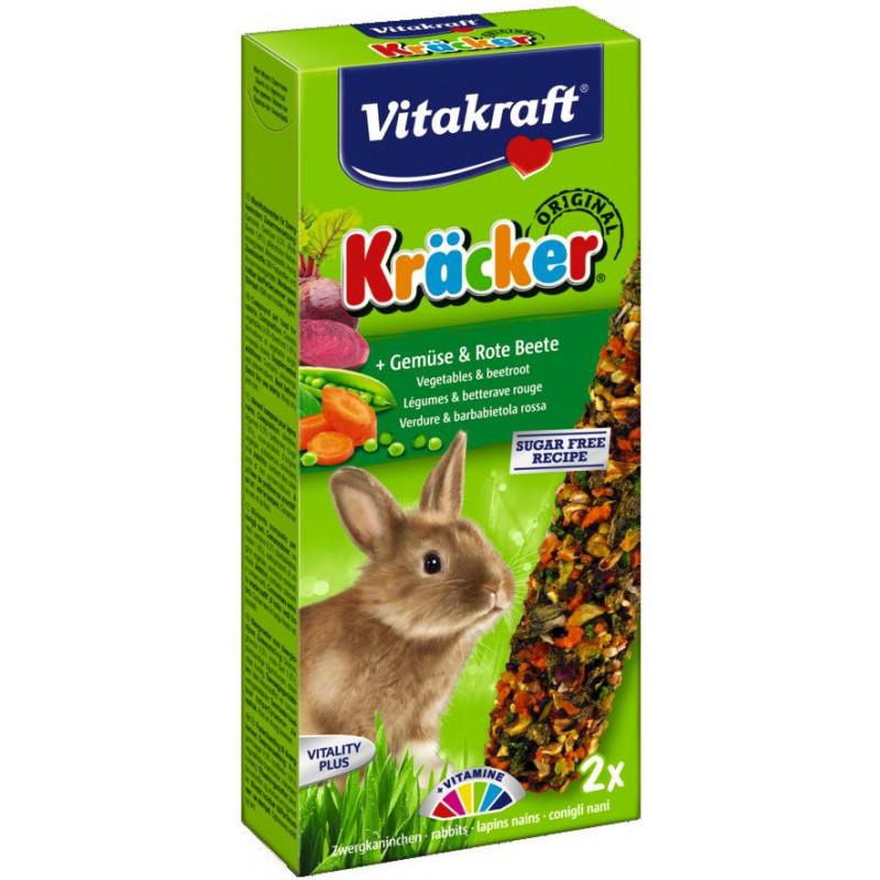 Крекер VITACRAFT для кроликов с овощами