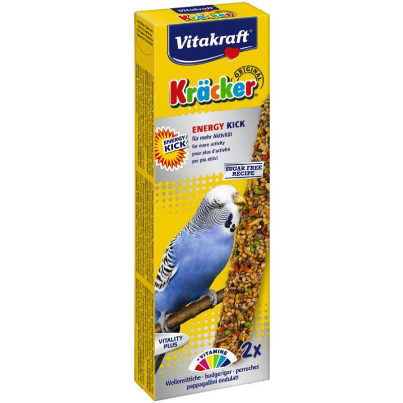 Крекер VITACRAFT ENERGY KICK для попугаев с витаминами