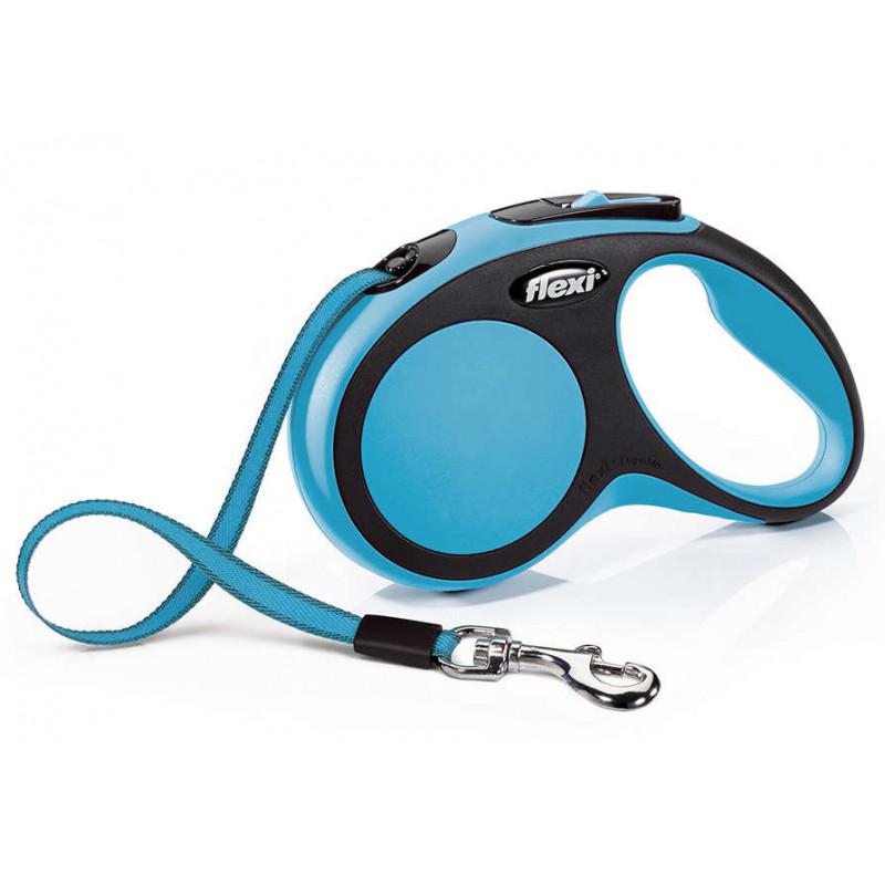Flexi (Флекси) New Comfort S - Поводок-рулетка для собак, лента (5 м, до 15 кг)