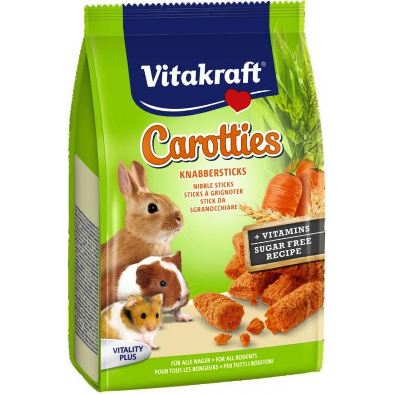 Лакомство VITACRAFT CARROTTIES для больших грызунов с морковью и злаками